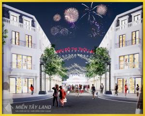Khu đô thị chợ Thới Lai mới tại thị trấn Thới Lai, huyện Thới Lai, thành phố Cần Thơ mỗi ngày một diện mạo mới