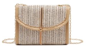 Túi đeo chéo rơm đan thời trang