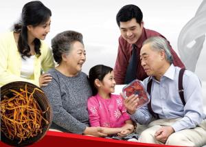 Tác dụng của Đông trùng Hạ thảo với người già