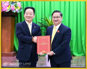 """Tập đoàn T&T Group """"bắt tay hợp tác'' với thành phố Cần Thơ : Phát triển đô thị  trung tâm"""