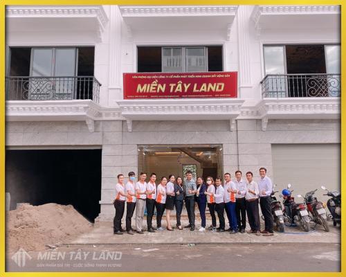 Miền Tây Land khai trương văn phòng đại diện tại Thới Lai