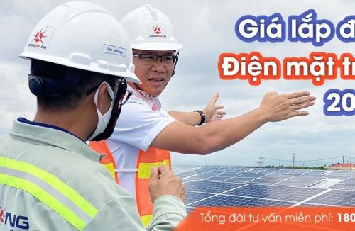 Giá lắp điện năng lượng mặt trời gia đình, doanh nghiệp bán cho EVN