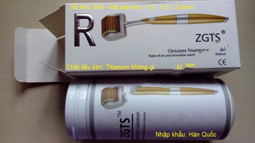 Cây lăn kim tay ZGTS 540 kim Hàn Quốc