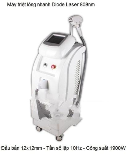 Máy Diode Laser triệt lông nhanh KM-808