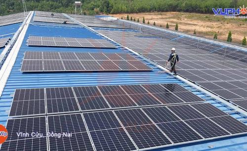 Hệ Thống Điện Mặt Trời Hòa Lưới 1MWp – Vĩnh Cửu, Đồng Nai