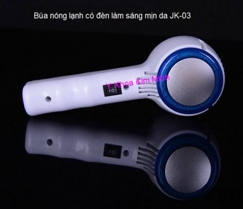 Búa siêu âm nóng lạnh có đèn làm sáng da JK-03