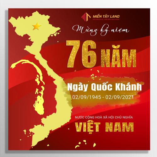 Mừng kỷ niệm 76 năm ngày Quốc khánh nước CHXHCN Việt Nam