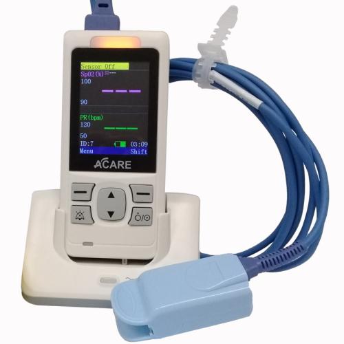 Máy đo nồng độ oxy bảo hòa trong máu loại cầm tay (AH-MX)