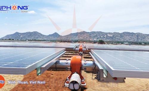 Hệ Thống Điện Mặt Trời Hòa Lưới 50MWp – Ninh Thuận