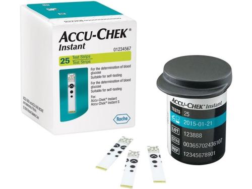 Que đo đường huyết sử dụng cho máy accu chek Instant