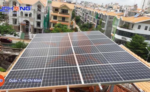 Hệ Thống Điện Mặt Trời Hòa Lưới 9MWp – Quận 7, TP.Hồ Chí Minh