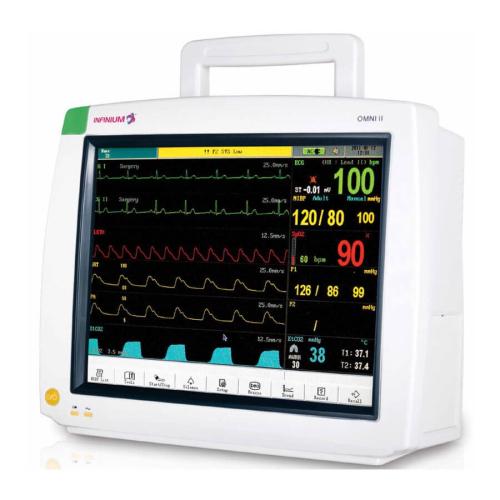 Máy theo dõi bệnh nhân đa chức năng 6 thông số (Omni II)