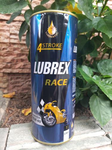 Nhớt Lubrex Race 4T Nano Plus 15W-40 cho xe máy