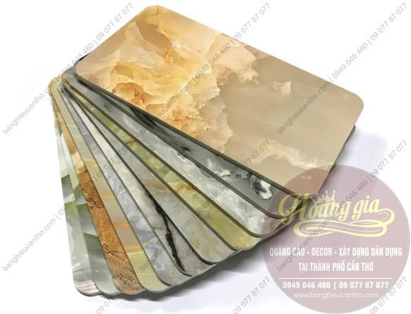 Tấm nhựa giả đá PVC cần thơ - trang trí nội ngoại thất bền đẹp rẻ  2020