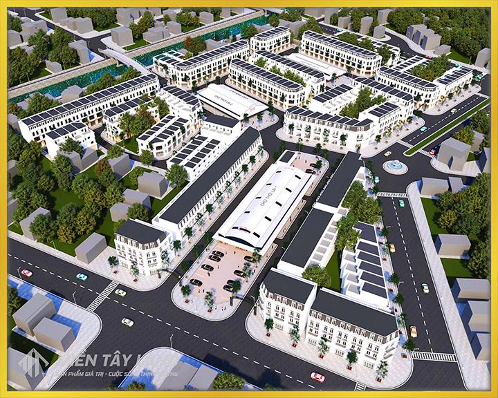 Miền Tây Land l Bất động sản Cần Thơ 6 l Khu đô thị chợ Thới Lai mới