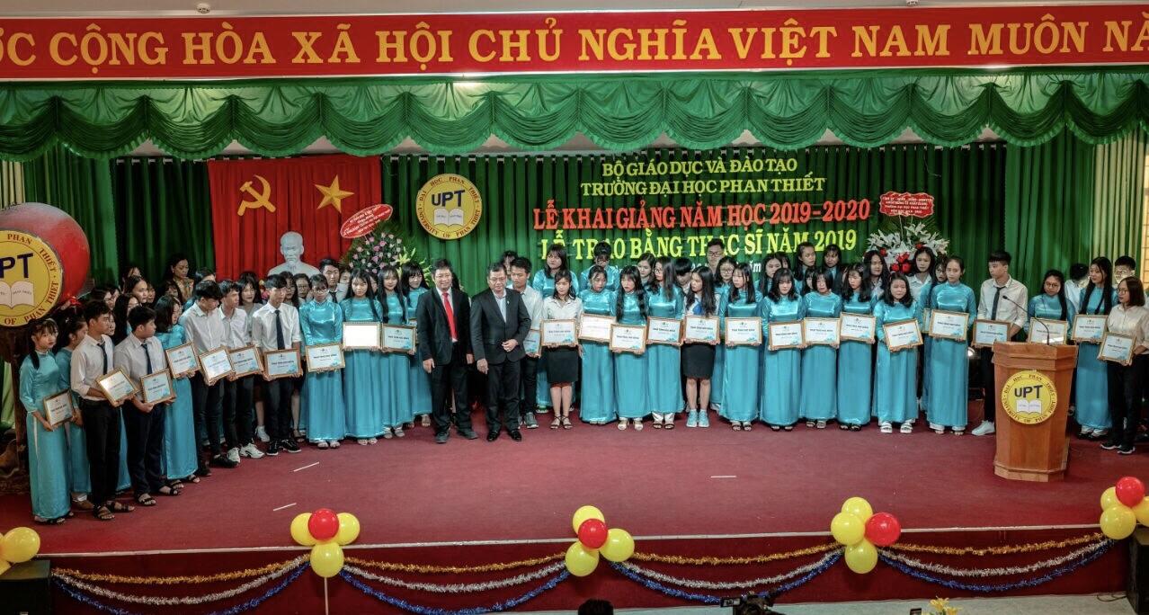 Novaland tiếp tục song hành cùng giáo dục đào tạo tỉnh Bình Thuận