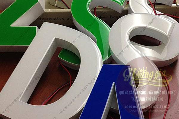 Các loại chữ nổi mica trên thị trường quảng cáo cần thơ | thiết kế gia công lắp đặc chữ nổi mica tại thành phố Cần Thơ.