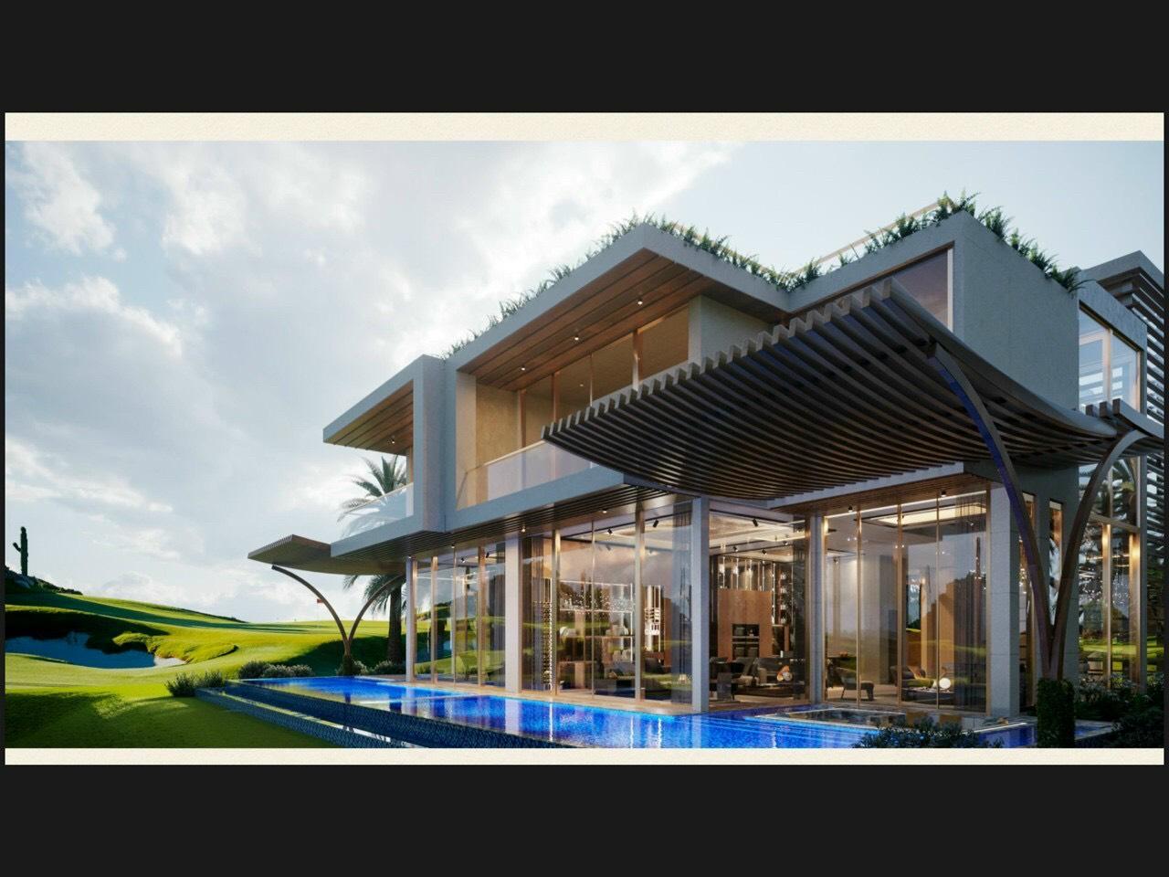 Độc đáo dòng biệt thự trong lòng sân golf ở Phan Thiết